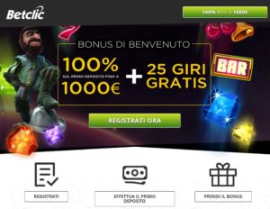 casino online bet clic it