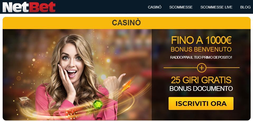 bonus casino netbet