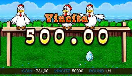 come vincere alla slot gallina
