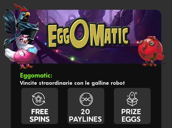eggOmatic slot gratis 888