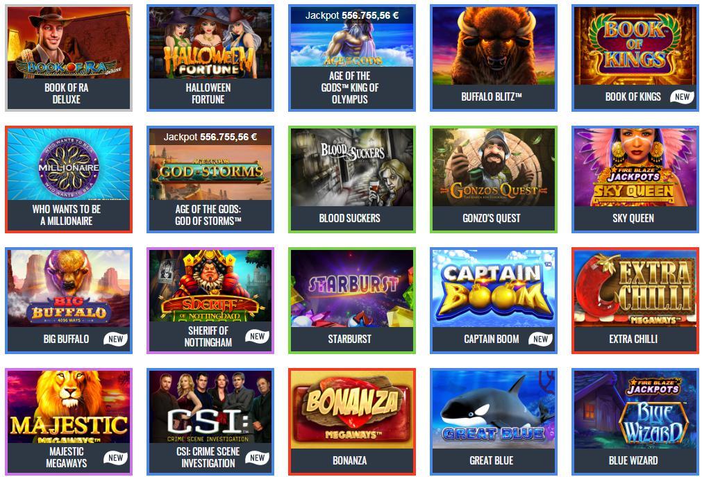 tutti i giochi di slot machine più giocati nel sito ufficiale WWWSNAICASINO