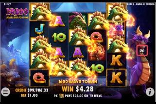 bonus slot Drago Jewels of Fortune