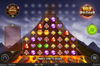 Gold Volcano Slot Casino Game
